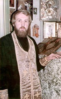 Отец Михаил Женочин после рукоположения