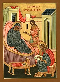Загрузить увеличенное изображение. 500 x 678 px. Размер файла 61272 b.  Рождество Крестителя Господня Иоанна
