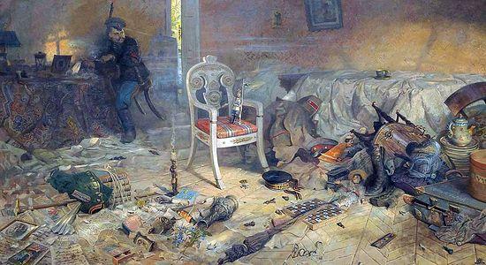 Павел Рыженко. Ипатьевский дом после цареубийства