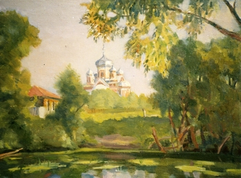 Картина Марины Милавиной