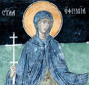 Great Martyr Euphemia.