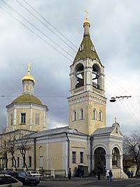 Церковь св. Илии Обыденного. Фото hram.codis.ru