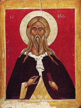 Святой пророк Илья. ГТГ