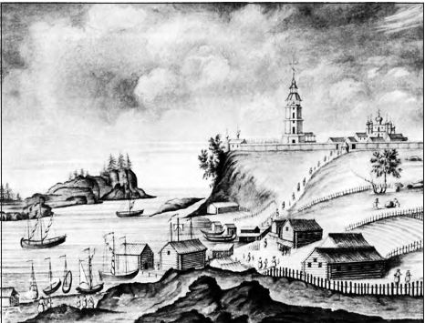Valaam Monastery during the eighteenth century.