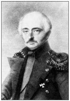 Baron Ferdinand P. Wrangell (†1870).