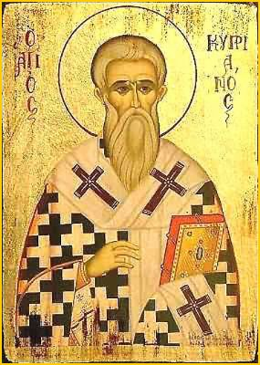 St. Cyprian of Carthage.