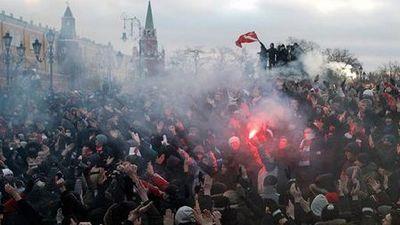 Москва, Манежная площадь, 2010 год
