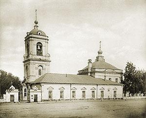 Спасский храм на Преображенской площади