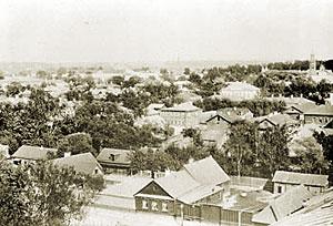 Село Преображенское. Вид с западной стороны