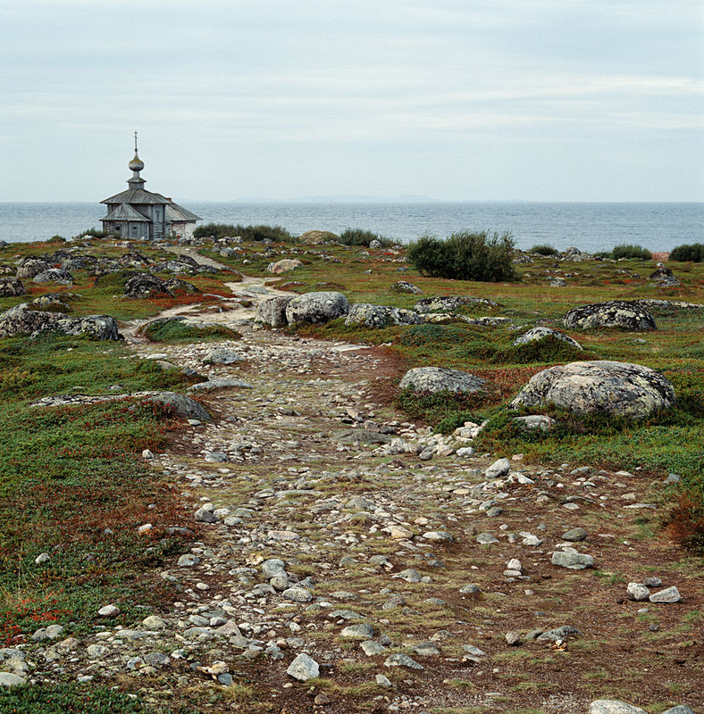 The Church of St. Andrew the Apostle on Greater Rabbit Island,