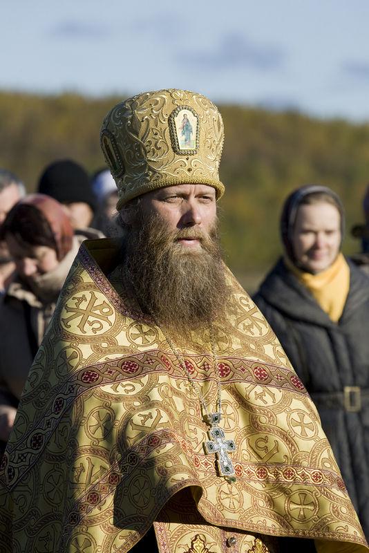 Archimandrite Porphiry, abbot of Solovki Monastery.