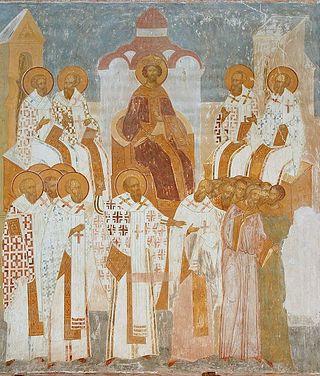 Второй Вселенский собор. Дионисий. Ферапонтов монастырь, собор Рождества Богородицы
