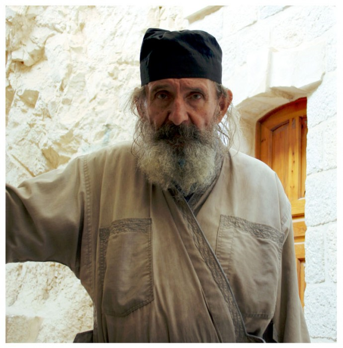 Портрет старого монаха. Фото: Ольга Тищенко