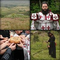 Монастырь Святой Троицы: Первая литургия через двенадцать лет после погрома