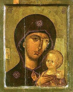 Петровская икона Богоматери