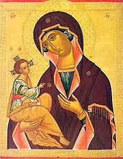 Икона Божией Матери Иерусалимская, празднование 12 / 25 октября.