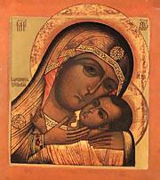 Икона Божией Матери Корсунская, или Ефесская, празднование 9 / 22 октября.