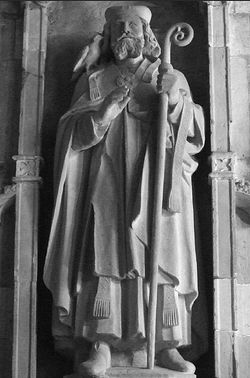 St. David of Wales, St. David's Cathedral.
