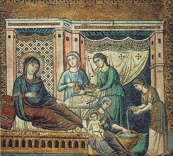 Загрузить увеличенное изображение. 700 x 632 px. Размер файла 187773 b.  Рождество Пресвятой Богородицы