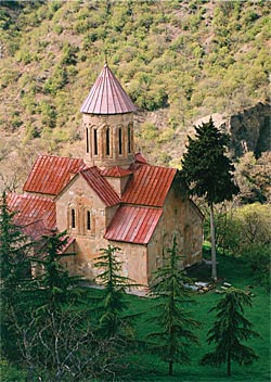 The church of Betania Monastery
