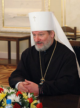 Metropolitan Christopher of the Czech lands and Slovakia.