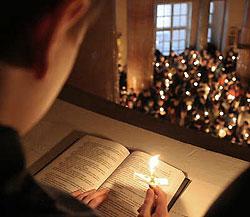 Чтение Покаянного Канона. Фото miloserdie.ru