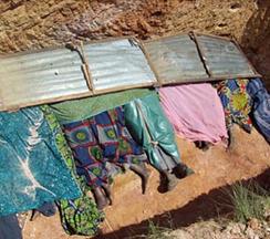В деревне Vwang Kogot было убито 14 христиан, в их числе женщина, ожидавшая ребенка