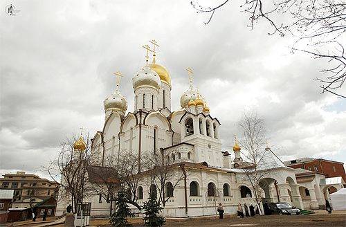 Собор Рождества Богородицы в московском Зачатьевском монастыре