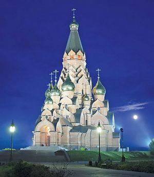 Лесосибирск. Собор Воздвижения Креста Господня