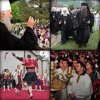 Визит Сербского Патриарха Иринея в Черногорию