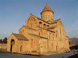 Svetitskhoveli Cathedral, built over the Robe of the Lord