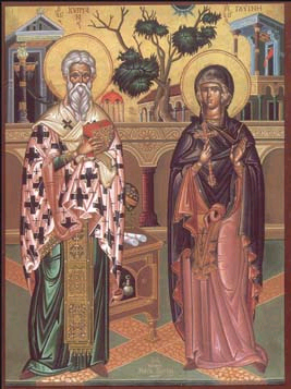 Sts. Cyprian and Justina.