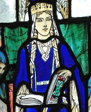 Маргарита Шотландская (изображение в часовне св. Маргариты в Эдинбурге)