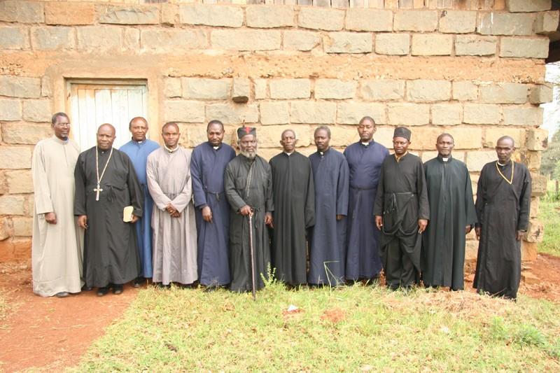 The clergy of Nieri. The clergy of Nieri region: