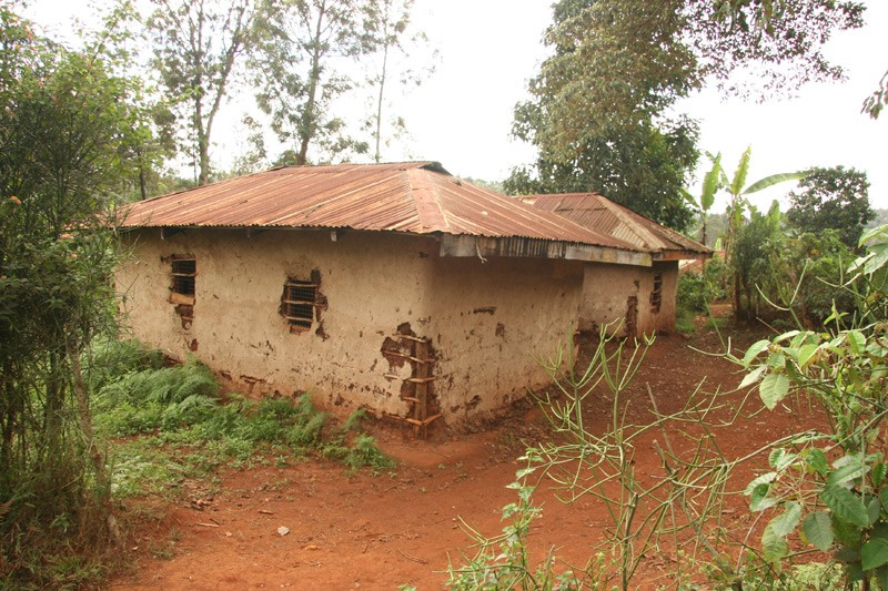 Hope for the Kikuyu.  A typical Kenyan peasant dwelling. There is no electricity, nor other conveniences in these houses.  Photo: Denis Makhanko