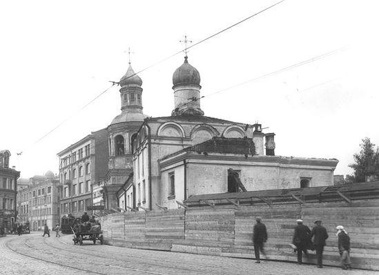 Загрузить увеличенное изображение. 800 x 581 px. Размер файла 83497 b.  Московский Сретенский монастырь