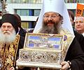 Жители Екатеринбурга могут поклониться Поясу Пресвятой Богородицы круглосуточно