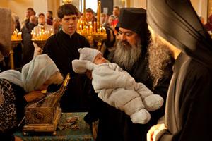 Владивосток. Во второй день пребывания Пояса Пресвятой Богородицы митрополит Вениамин возглавил богослужение в Покровском кафедральном соборе