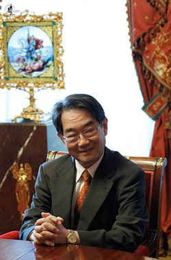 Japanese Ambassador to Russia Tikahito Harada