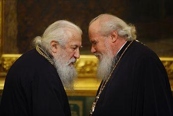 Митрополит Лавр и Патриарх Алексий. Фото: В.Ходаков