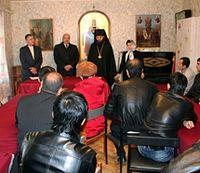Владыка Феофилакт открывает курсы по изучению русского языка и культуры