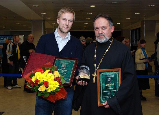 Один из лауреатов священник Александр Дьяченко. Фото: А.Поспелов / Православие.Ru