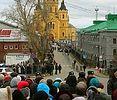 В Нижнем Новгороде к Поясу Пресвятой Богородицы поклонились около 170 тысяч человек
