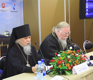Епископ Смоленский и Вяземский Пантелеимон и протоиерей Димитрий Смирнов