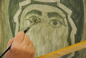 49376.p Иконописно ателие - съвременно изкуство
