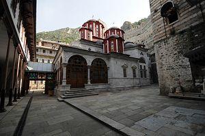 Кафоликон монастыря Святого Павла