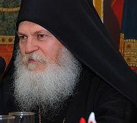 Archimandrite Ephraim, abbot of Vatopedi Monastery. Photo: A. Pospelov, Pravoslavie.ru