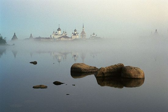 Solovki Monastery. Photo by Sergei Veretenikov.
