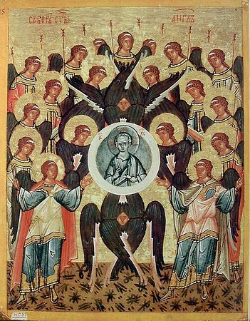 The Synaxis of Archangel Michael and all the heavenly hosts.