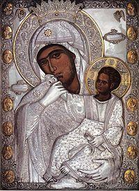 Икона Божией Матери Отрада или Утешение